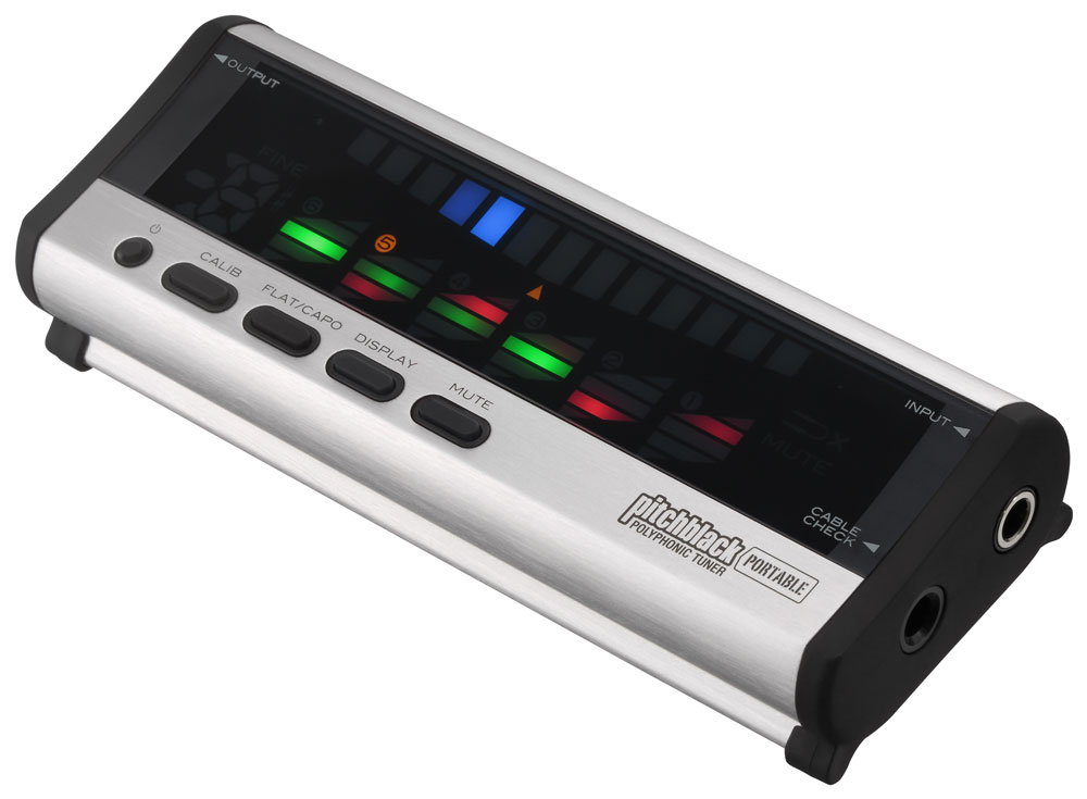 KORG PITCHBLACK PORTABLE SILVER