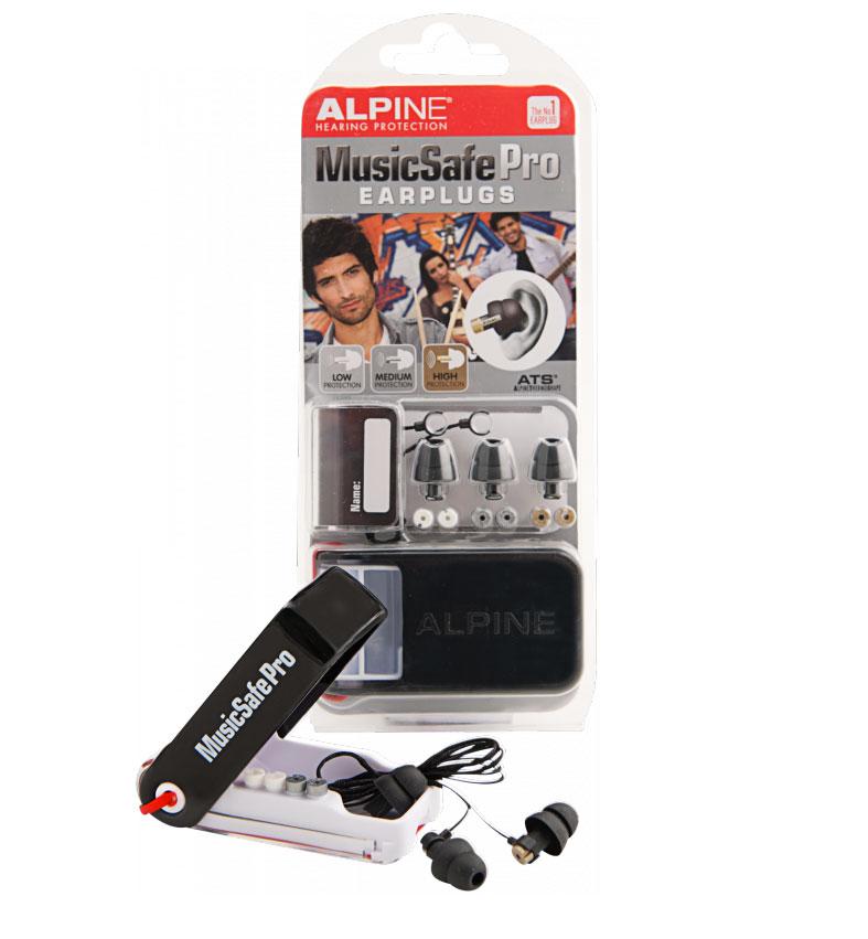 ALPINE MUSIC SAFE PRO NEGRO