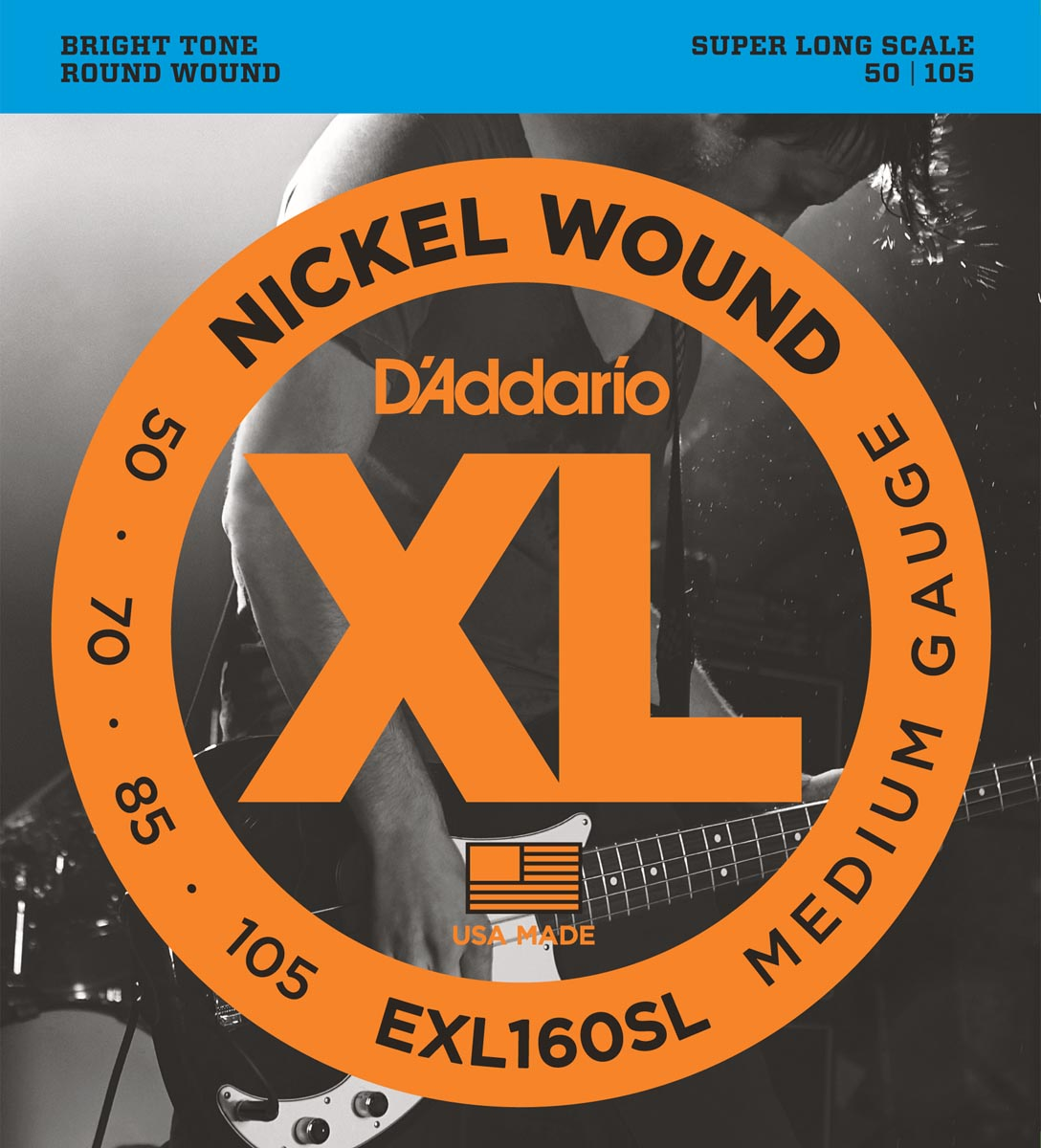 DADDARIO EXL160SL SUPER LONG SCALE [50-105]