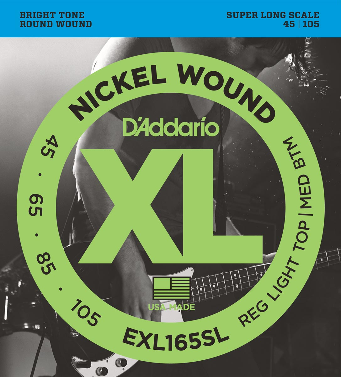 DADDARIO EXL165SL SUPER LONG SCALE [45-105]