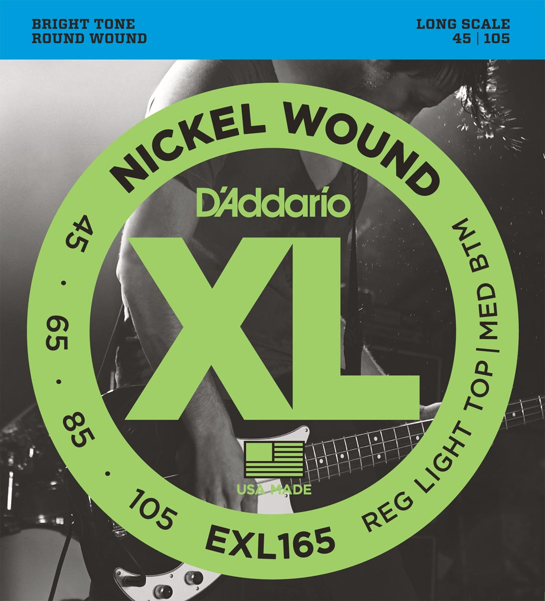 DADDARIO EXL165 LONG SCALE [45-105]