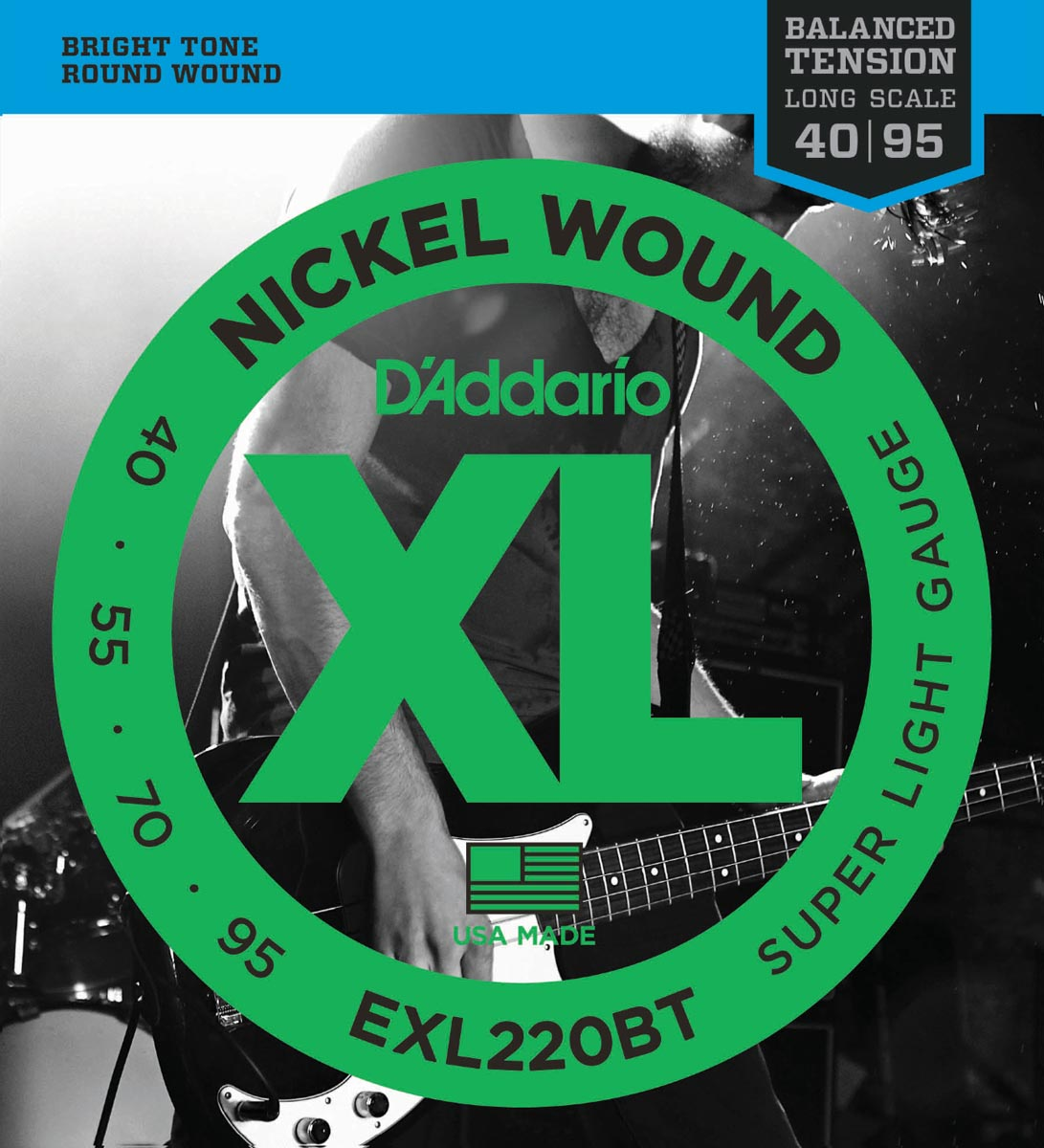 DADDARIO EXL220BT BALANCED TENSION SUPER LIGHT [40-95]
