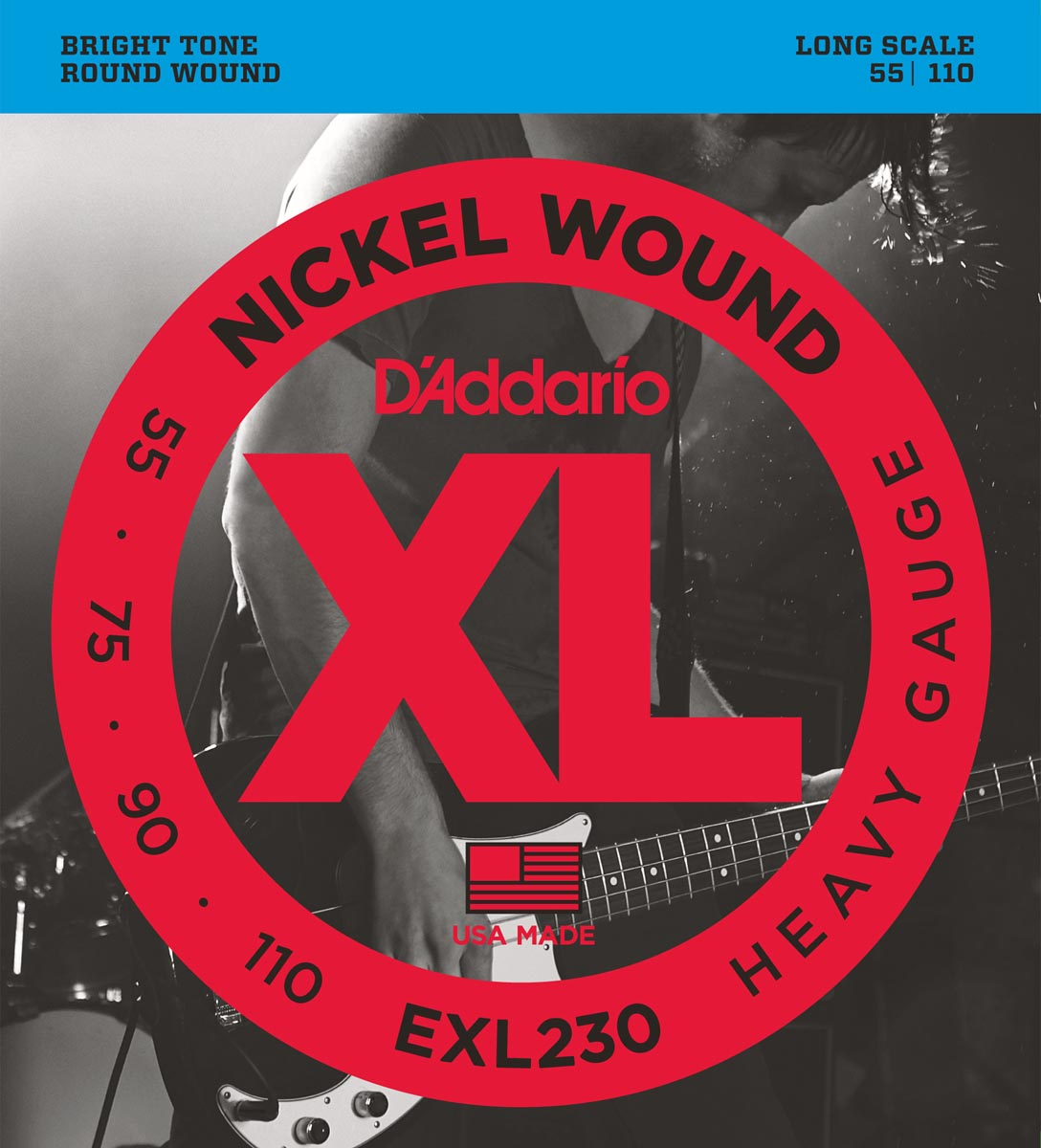 DADDARIO EXL230 HEAVY LONG SCALE [55-110]