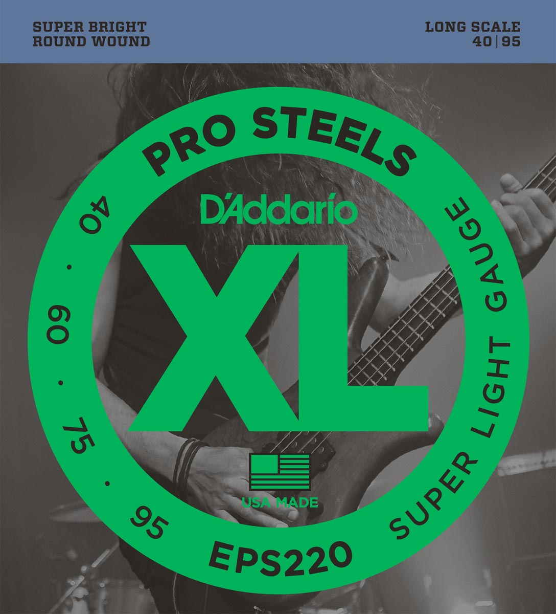 DADDARIO EPS220 PROSTEELS SUPER LIGHT [40-95]