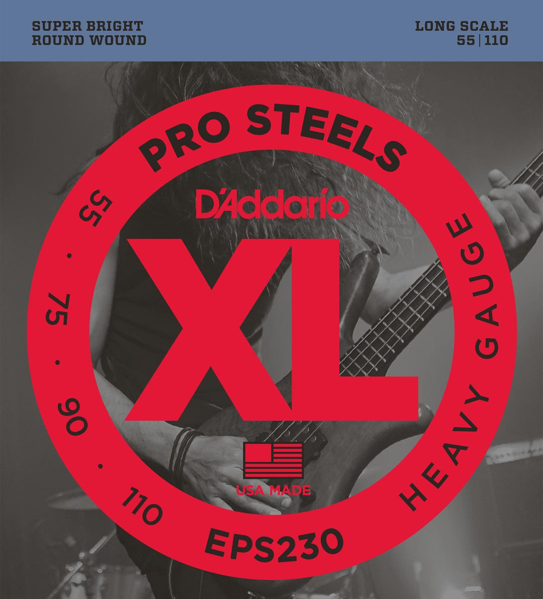 DADDARIO EPS230 PROSTEELS HEAVY [55-110]