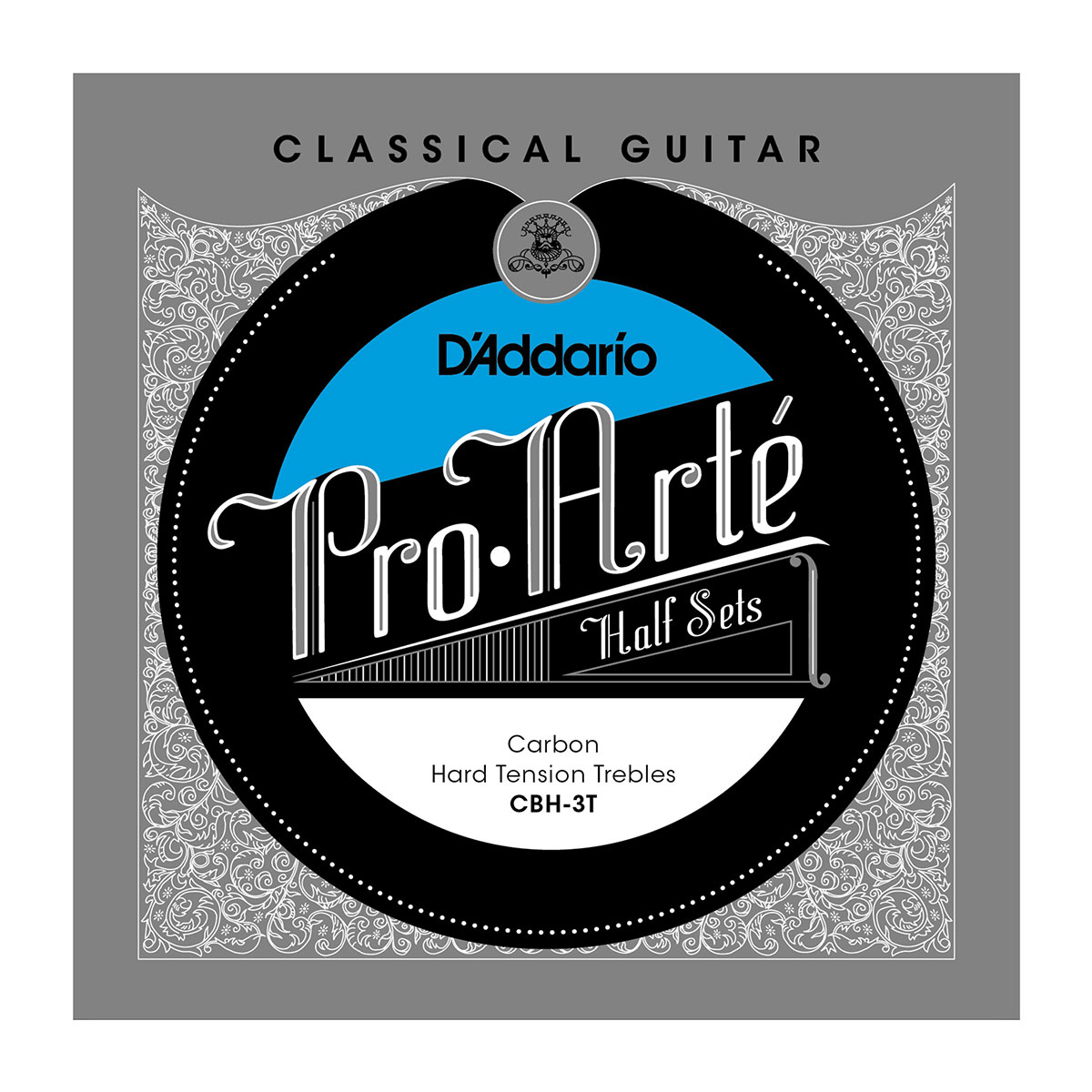 D'ADDARIO CBH-3T Pro-Arte Classical Halfsets Carbon Hard Tension