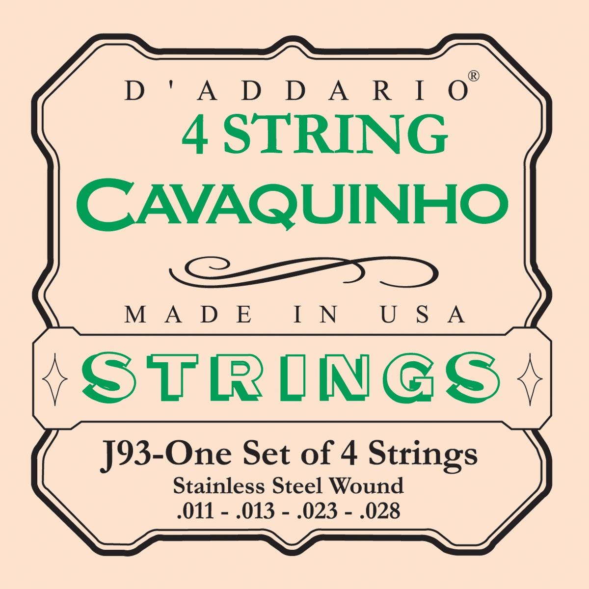 DADDARIO J93 CAVAQUINHO