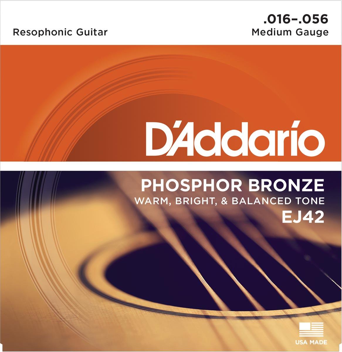DADDARIO EJ42 RESOPHONIC GUITAR [16-56]