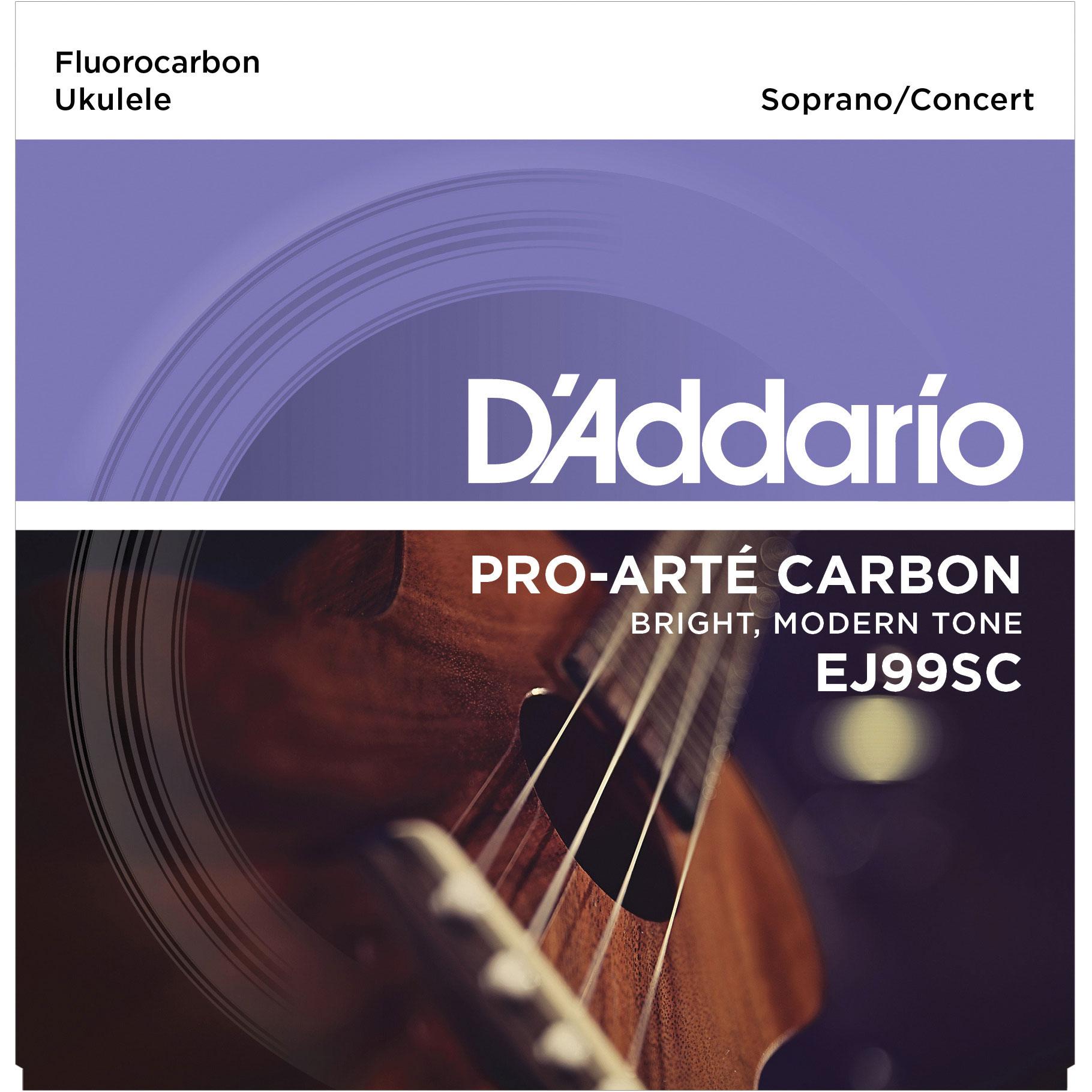 DADDARIO EJ99SC PRO-ARTÉ CARBON UKULELE, SOPRANO / CONCERT
