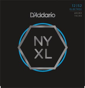 D'Addario - NYXL1252W Electric Wound Third [12-52]