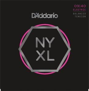 D'Addario - NYXL0940BT Electric Balanced Tension [09-40]