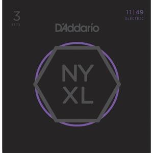 D'Addario - NYXL1149 Medium [11-49] Pack 3 juegos